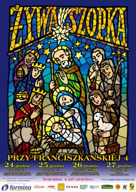 plakat szopka 2009